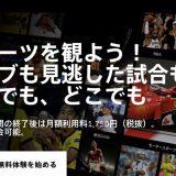 【遂にプレミアリーグ追加!】Jリーグに欧州5大リーグ、プロ野球に格闘技も。月額1,750円のスポーツライブ配信「DAZN(ダ・ゾーン)」