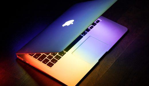 【レビュー】MacBook Air13インチのレビュー|Touch IDの指紋認証センサーは便利だけど・・